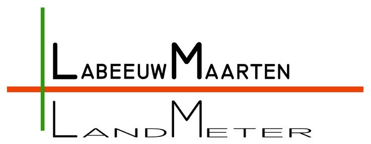 Landmeter Maarten Labeeuw logo