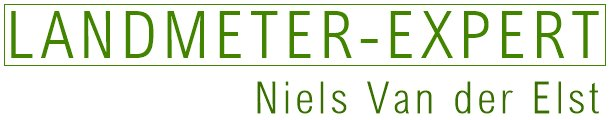 Landmeter Van der Elst Niels logo