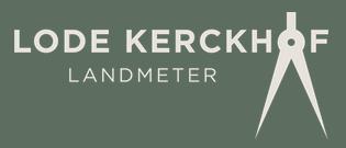 Landmeter Lode Kerckhof logo