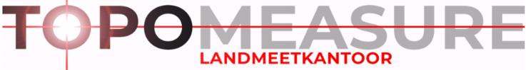 Landmeetkantoor Topomeasure logo
