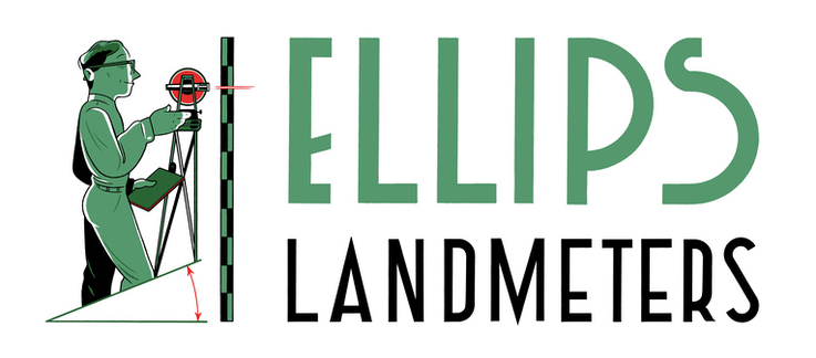 Ellips Landmeters logo