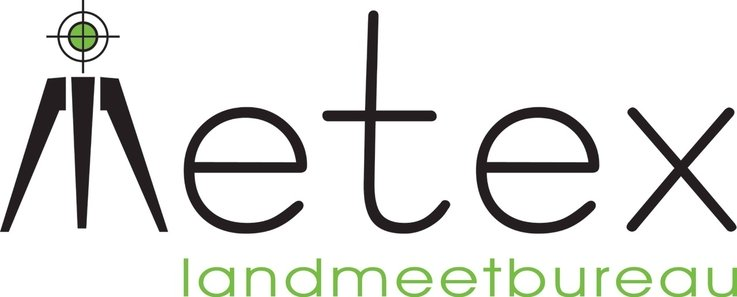 Metex Landmeetbureau logo