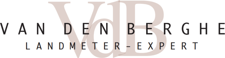 Landmeter-expert Van den Berghe logo